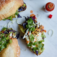 Food & Wine: Grilled Cabbage Cemitas