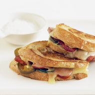 Food & Wine: Grilled Cheese and Chorizo Sandwiches