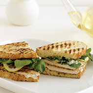 Food & Wine: Grilled Chicken Sandwiches with Remoulade and Shaved Lemon