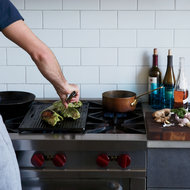 Food & Wine: Grilled Chicken with Miso-Basil Marinade