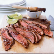 Food & Wine: Grilled Flank Steak with Soy-Chile Glaze