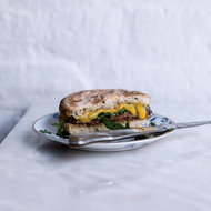 Food & Wine: Grilled Steak Sandwiches with Dried Shrimp-Chile Jam