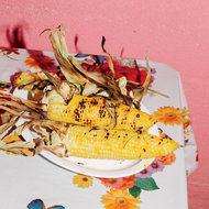 Food & Wine: Grilled Sweet Corn with Coconut Glaze