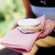 Food & Wine: Hazelnut Meringue Ice Cream Sandwiches
