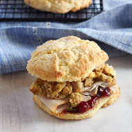 Food & Wine: Buttermilk Ham and Cheese Biscuits