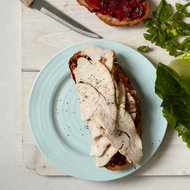 Food & Wine: Turkey Sandwiches with Cranberry-Apricot Relish