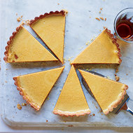 Food & Wine: Golden Caramel and Chocolate Tart