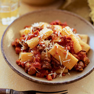 Food & Wine: Hearty Lamb Ragù with Rigatoni
