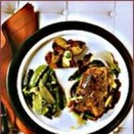Food & Wine: Herb-Stuffed Chicken with Balsamic Jus