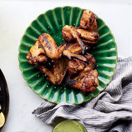 Food & Wine: Hill Country Smoked Chicken Wings with Texas Ranch Dressing