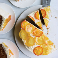 Food & Wine: Honey Cake with Citrus Frosting