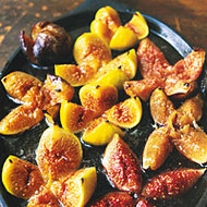 Food & Wine: Figs with Honey and Champagne