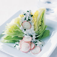 Food & Wine: Iceberg Wedges with Blue Cheese Dressing