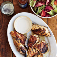 Food & Wine: Grilled Chicken Menu