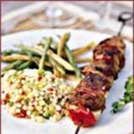 Food & Wine: Leg of Lamb Kebabs with Pomegranate Glaze