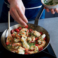 Food & Wine: Jumbo Shrimp with Garlic and Chile Butter