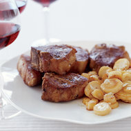 Food & Wine: Lamb Chops with Parsnips