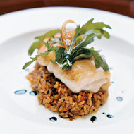 Food & Wine: Lemon Sole with Tomato-Olive Risotto