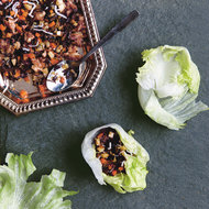 Food & Wine: Lettuce Wraps with Dried Oysters