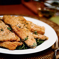Food & Wine: Matzo Meal-Crusted Trout