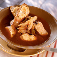 Food & Wine: Mediterranean Fish Soup with Garlicky Rouille