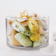 Food & Wine: Melon and Mango Salad with Toasted Coconut and Pistachios