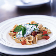 Food & Wine: Orecchiette with Ricotta, Basil and Tomatoes