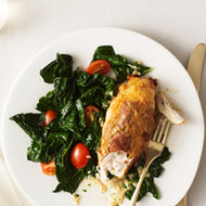 Food & Wine: Italian-Style Chicken with Prosciutto and Basil