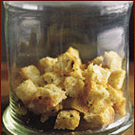 Food & Wine: Garlic and Thyme Croutons