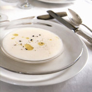 Food & Wine: Silken Bread and Parmesan Soup