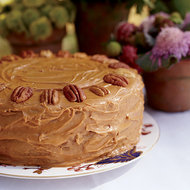 Food & Wine: Pecan-Spice Cake with Caramel Frosting