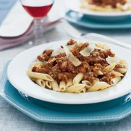 Food & Wine: Penne with Veal Ragù