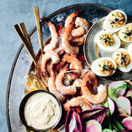 Food & Wine: Pickled Shrimp with Red Remoulade