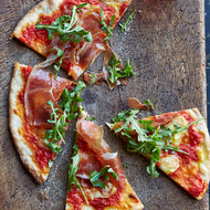 Food & Wine: Pizza with Prosciutto and Sheep-Milk Cheese