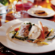 Food & Wine: Poached Chicken with Tarragon