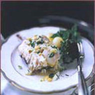 Food & Wine: Poached Sea Bass with Lemon Butter