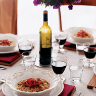 Food & Wine: Porcini Risotto with Serrano Ham