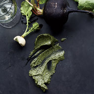 Food & Wine: Radishes with Seaweed-Matcha Butter