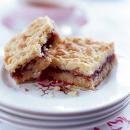 Food & Wine: Raspberry Shortbread Bars