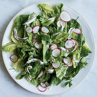 Food & Wine: Little Gem Lettuce with White Anchovies