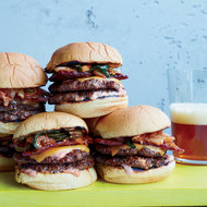 Food & Wine: Bacon-and-Kimchi Burgers