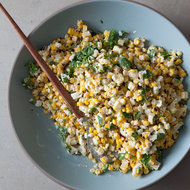 Food & Wine: Mexican Grilled-Corn Salad with Citrus Aioli