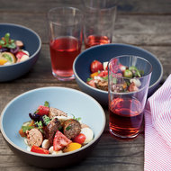 Food & Wine: Sausage and Heirloom Tomato Salad