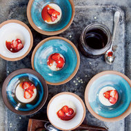 Food & Wine: Russian Cream with Strawberries
