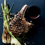 Food & Wine: Pork Chops with Fennel and Juniper