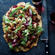 Food & Wine: Free-Form Autumn Vegetable Tart with Bacon Marmalade