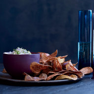 Food & Wine: Potato Chips with Whipped Beurre Blanc