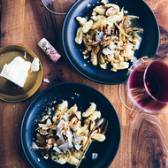 Food & Wine: Potato Gnocchi with Wild Mushroom Ragù and Hazelnuts