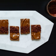 Food & Wine: Coffee-Caramel-Jam Toasts