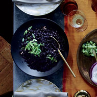 Food & Wine: Forbidden Black Rice with Ginger and Cardamom